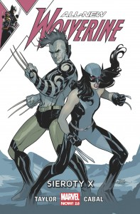All-New Wolverine Sieroty X